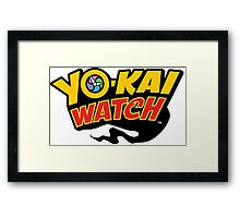 Yo-kai Watch Framed Print
