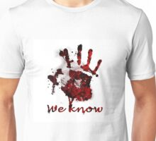 Dark Brotherhood Handprint Unisex T-Shirt