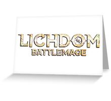 Lichdom: Battlemage Greeting Card