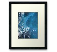 Mixtures Of Blue 1 Framed Print