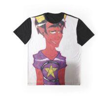 Satan Drawing Graphic T-Shirt