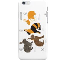 Rabbit colour genetics - Extension gene iPhone Case/Skin