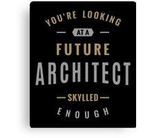 Future Architect Canvas Print