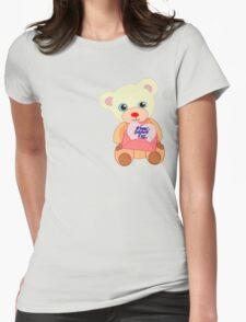 Teddy with mother's day message (5683 views) T-Shirt