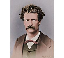 Young Mark Twain 1867 Photographic Print