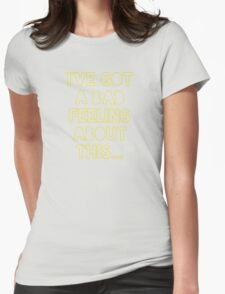 Star Wars Han Solo Womens Fitted T-Shirt