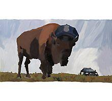 Buffalo Police Photographic Print