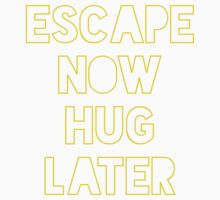 Star Wars: Escape now, hug later Baby Tee
