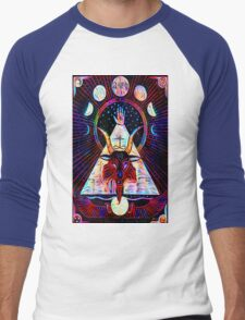 Baphomet Tarot  Men's Baseball ¾ T-Shirt