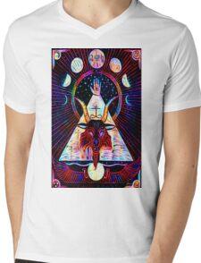 Baphomet Tarot  Mens V-Neck T-Shirt