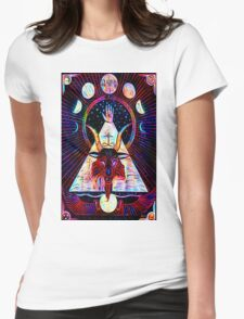 Baphomet Tarot  Womens Fitted T-Shirt