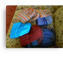 Colourful Hats Canvas Print