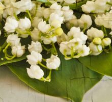 Lily Of The Valley Art Sticker