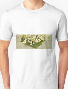 Lily Of The Valley Art Unisex T-Shirt