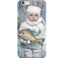 Fish Holder  iPhone Case/Skin