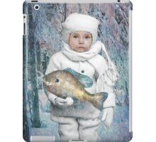 Fish Holder  iPad Case/Skin