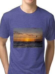 Chelsea Beach Sunset Tri-blend T-Shirt