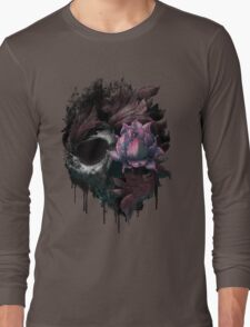 Death Blooms Long Sleeve T-Shirt