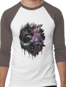 Death Blooms Men's Baseball ¾ T-Shirt