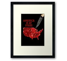 Red Meat Framed Print