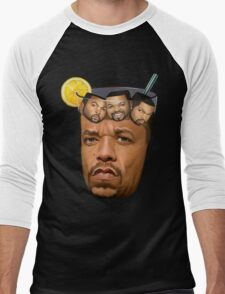 Just Some Ice Tea and Ice Cubes Men's Baseball ¾ T-Shirt