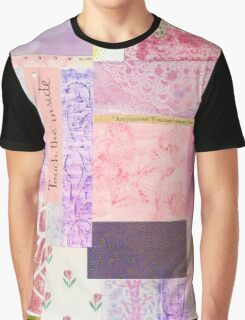 Touch The Inside - Paper Collage Graphic T-Shirt