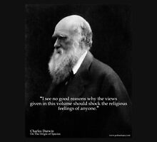 Charles Darwin OOS religious feelings quote 1 Pullover