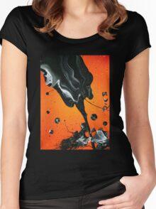 La Rosa Negra Women's Fitted Scoop T-Shirt