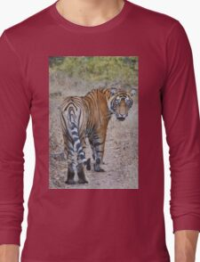 Young Male Tiger Long Sleeve T-Shirt