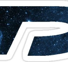 DP Space Blue Sticker