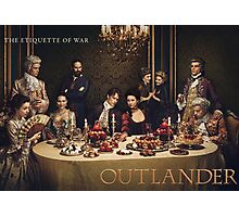 Outlander/Season two poster Photographic Print