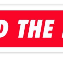 Feed the Fox Sticker