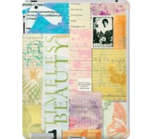 Timeless Beauty - Paper Collage  iPad Case/Skin