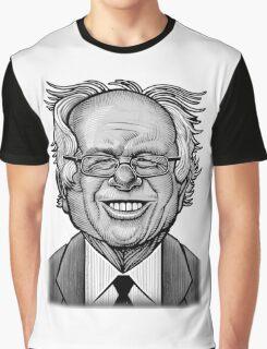 Bernie Caricature Graphic T-Shirt