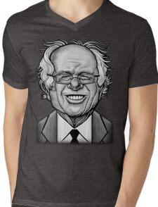 Bernie Caricature Mens V-Neck T-Shirt