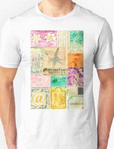My Secret - Paper Collage Unisex T-Shirt