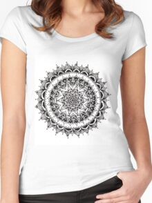 Traditional Mandala  Women's Fitted Scoop T-Shirt