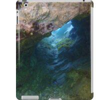 Diving (tunel) iPad Case/Skin