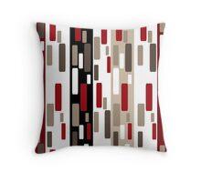 Seamless texture geometric shapes. Throw Pillow