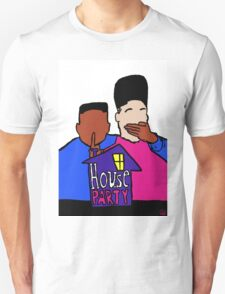 House Party White Unisex T-Shirt