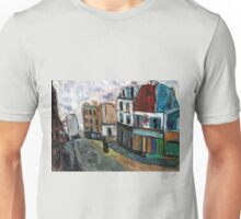 City Square(after Utrillo) Unisex T-Shirt