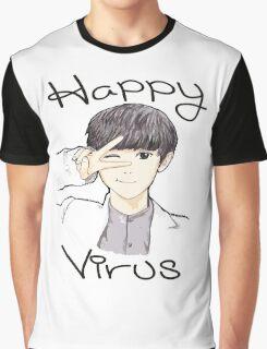 Happy Virus Chanyeol Graphic T-Shirt