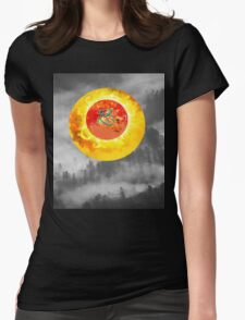 just another landscape Womens Fitted T-Shirt