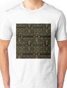 Patchwork seamless snake skin pattern texture Unisex T-Shirt