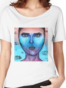 Sunset Portrait Women's Relaxed Fit T-Shirt