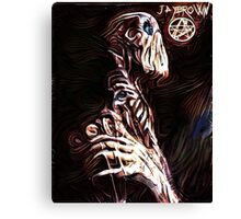 Necronomicon Nightmares Canvas Print