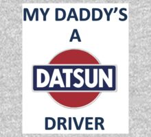 My Dad is A Datsun Dad Baby Tee
