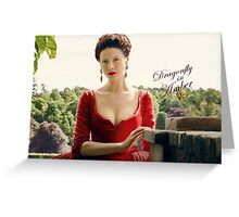 Outlander/Dragonfly in Amber/Claire Fraser Greeting Card