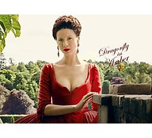Outlander/Dragonfly in Amber/Claire Fraser Photographic Print