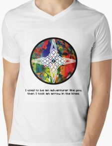 Took an Arrow in the Knee - Dawnstar Version Mens V-Neck T-Shirt